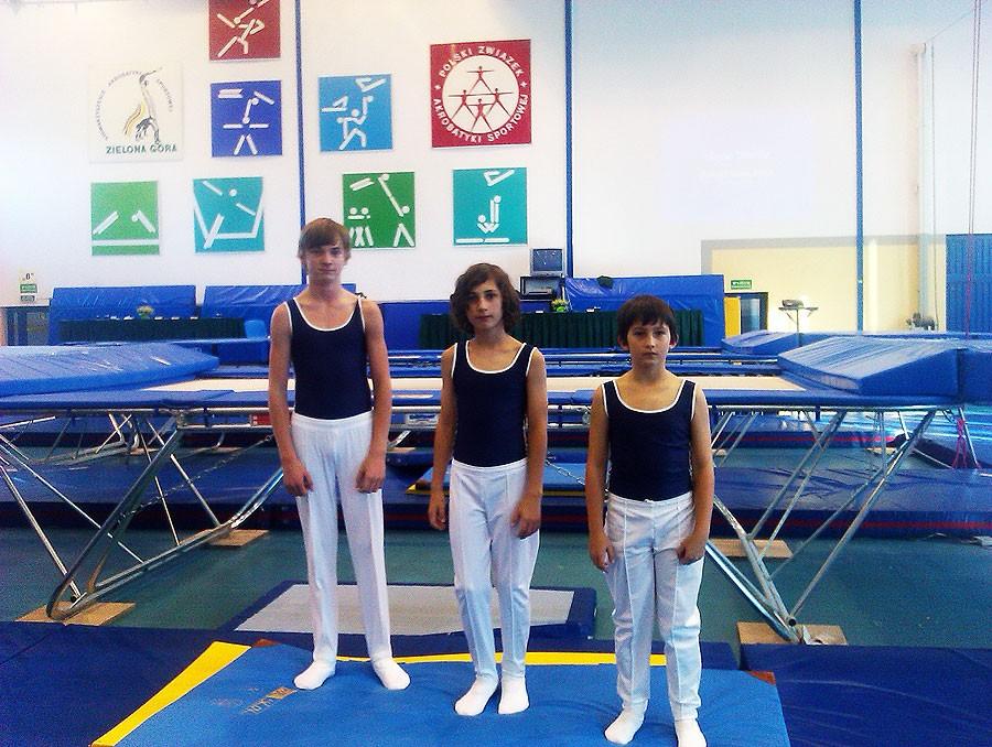 akrobatyka, Akrobaci startowali Zielonej Górze - zdjęcie, fotografia