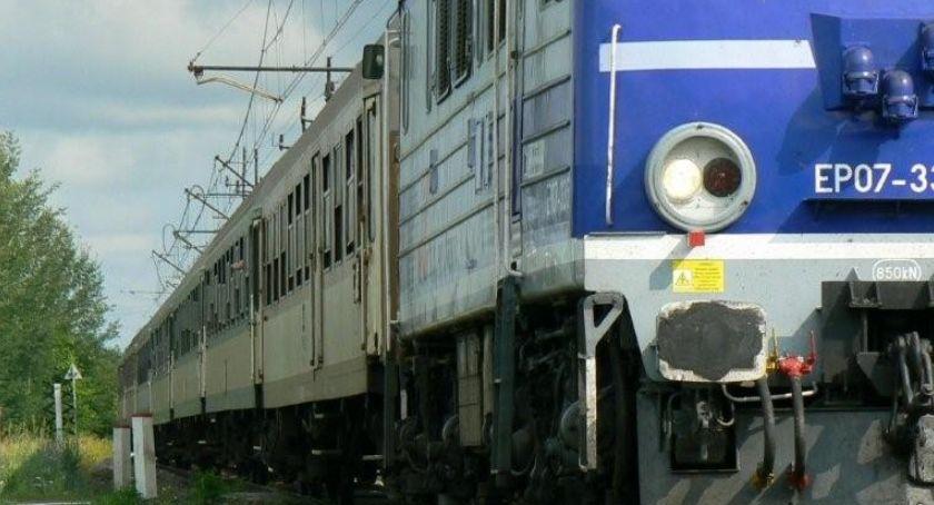Policja, Szczecinku mężczyzna wtargnął pociąg Zginął miejscu - zdjęcie, fotografia