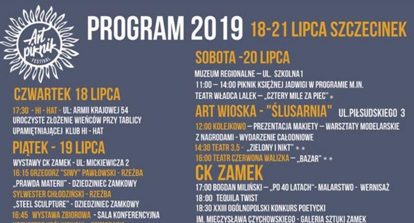 Art Piknik 2019. Program imprezy w Szczecinku