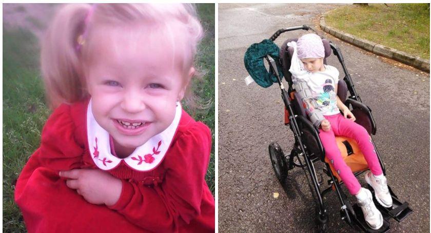 6-letnia Zosia wybudziła się ze śpiączki i potrzebuje rehabilitacji. Trwa zbiórka nakrętek