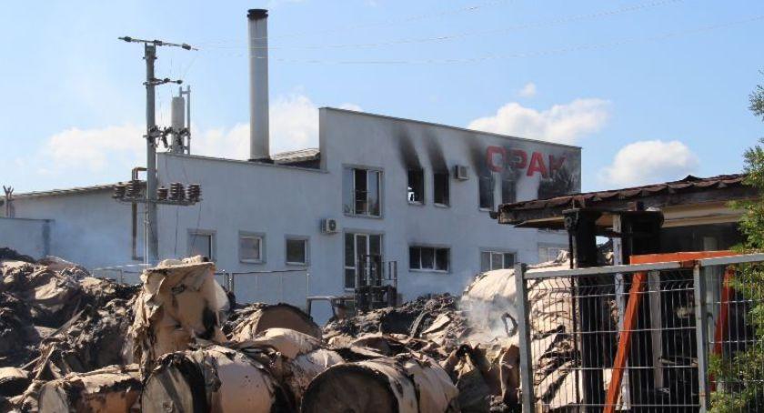 To już oficjalne: niszczony w pożarze zakład OPAK zostanie odbudowany!