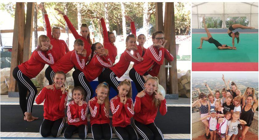 Dziewczyny z AKS Darzbór Szczecinek na obozie sportowym we Włoszech