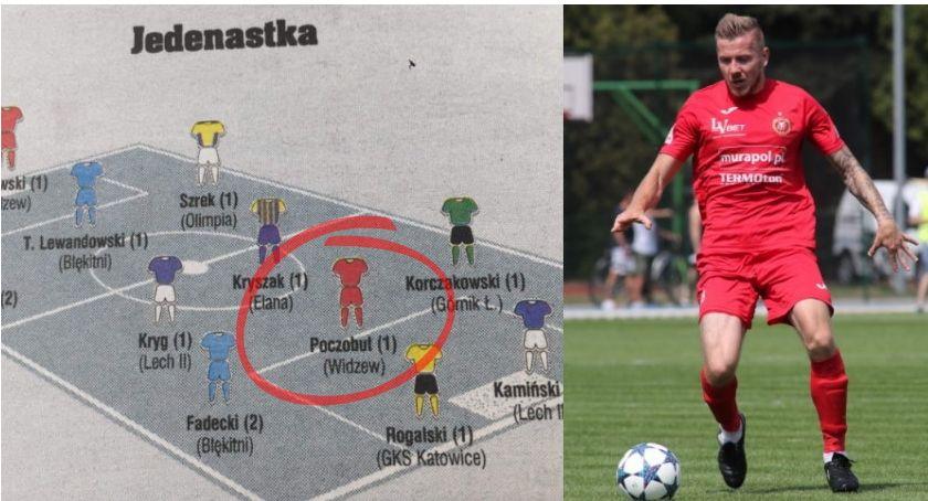 """Bartłomiej Poczobut w najlepszej jedenastce kolejki """"Piłki Nożnej"""""""
