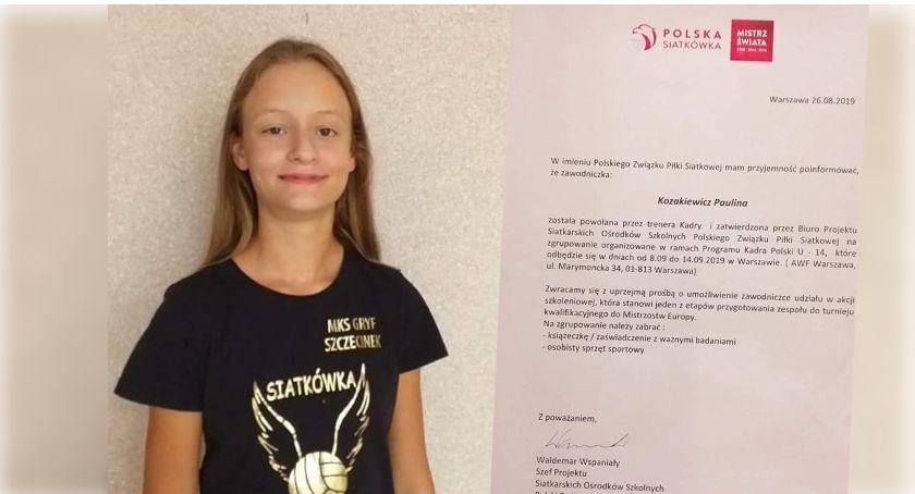 Siatkarka Paulina Kozakiewicz z powołaniem do kadry Polski U-14!