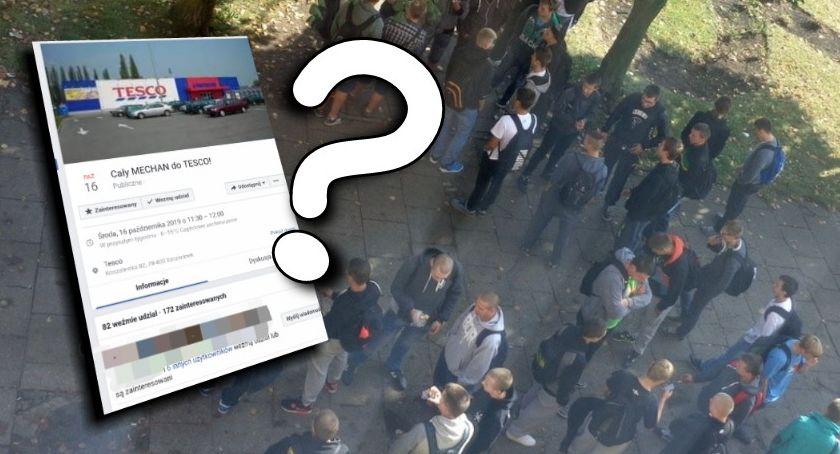 """""""Cały mechan do Tesco!"""". Czy uczniowie ze Szczecinka zorganizują swoją wielką akcję?"""