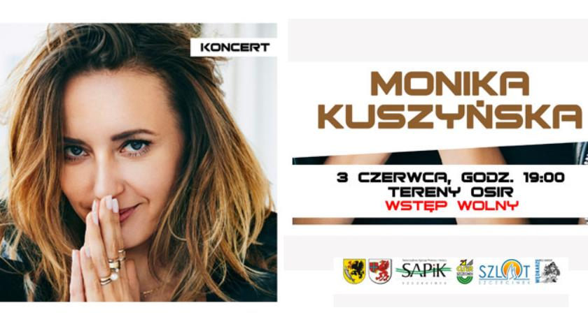 Imprezy Sapik, Monika Kuszyńska zaśpiewa Szczecinku! - zdjęcie, fotografia