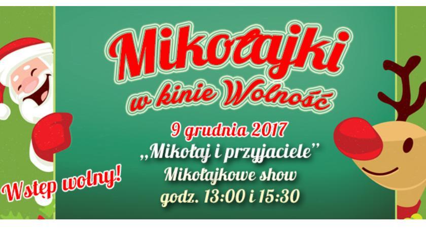 Imprezy Sapik, Mikołajki kinie Wolność! - zdjęcie, fotografia