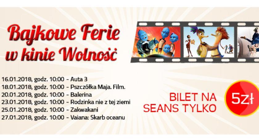 Imprezy Sapik, Bajkowe ferie kinie Wolność! - zdjęcie, fotografia