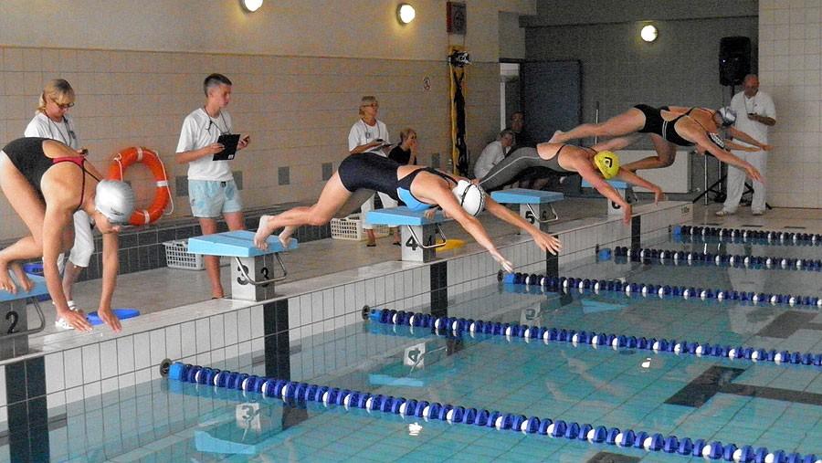 plywanie, Mastersi pływali Szczecinku - zdjęcie, fotografia