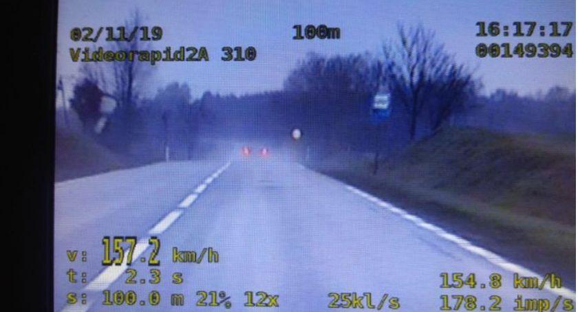 """Akcja """"Znicz"""" w Szczecinku. Było spokojnie, choć wideoradar miał co robić"""