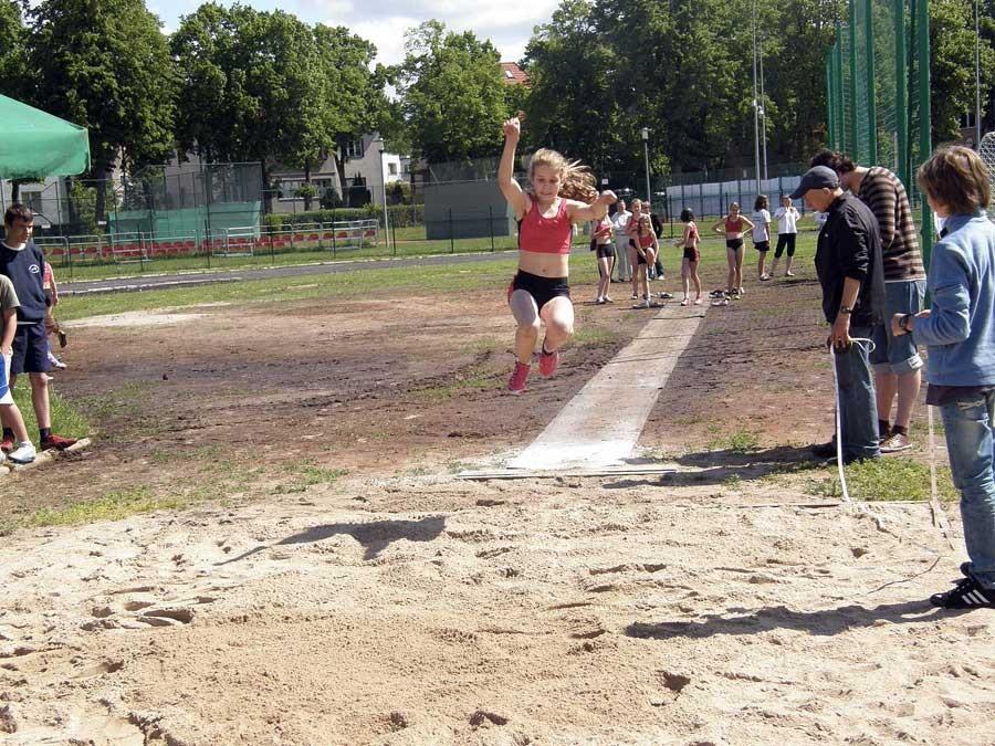 lekkoatletyka, Powiatowy czwórbój lekkoatletyczny - zdjęcie, fotografia