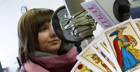 Aktualności, Radio Temat Tarot lustro samych Rozmowa tarocistką Katarzyną - zdjęcie, fotografia