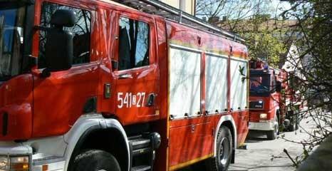 Aktualności, Ćwiczenia Przedszkolu Publicznym pożar ewakuacja dzieci - zdjęcie, fotografia