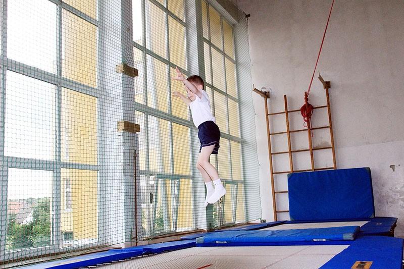 akrobatyka, Wojewódzka Olimpiada Młodzieży akrobatyka - zdjęcie, fotografia