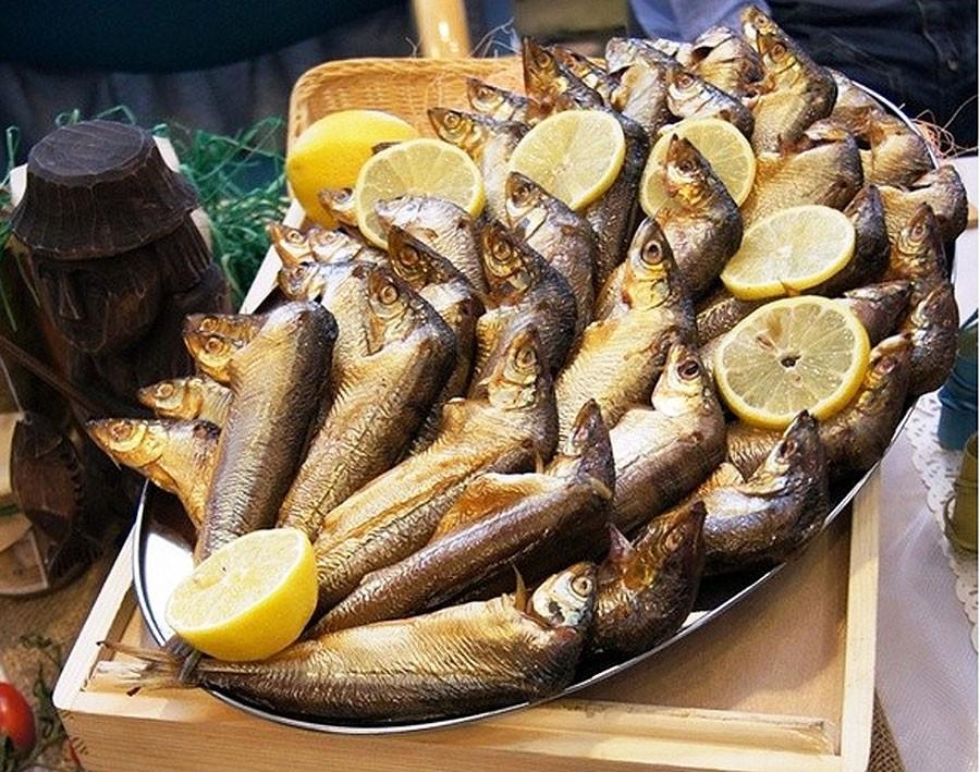 Na ryby?, Wędzona sielawa wpisana produkt tradycyjny - zdjęcie, fotografia