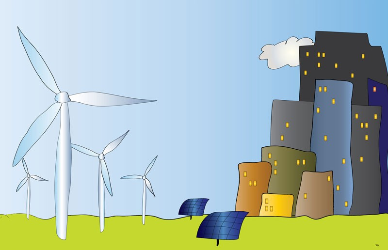 Aktualności, Pytania dobrą energię elektrownie wiatrowe - zdjęcie, fotografia