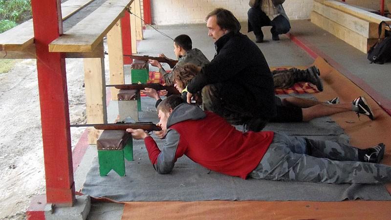 """strzelectwo, Rywalizowali """"Srebrne Muszkiety"""" - zdjęcie, fotografia"""