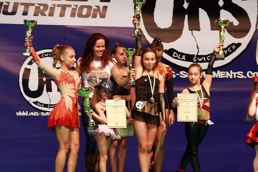 akrobatyka, Bartoszek mistrzynią Polski fitness dzieci - zdjęcie, fotografia