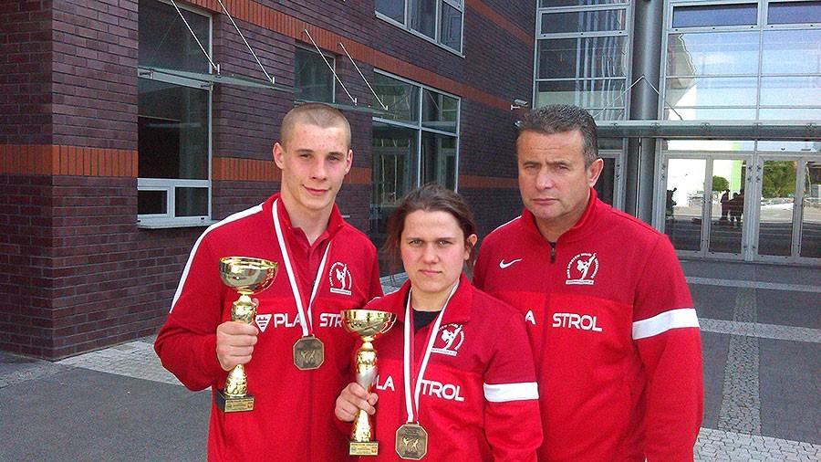 taekwondo, Zawodnicy sukcesami Mistrzostwach Polski - zdjęcie, fotografia