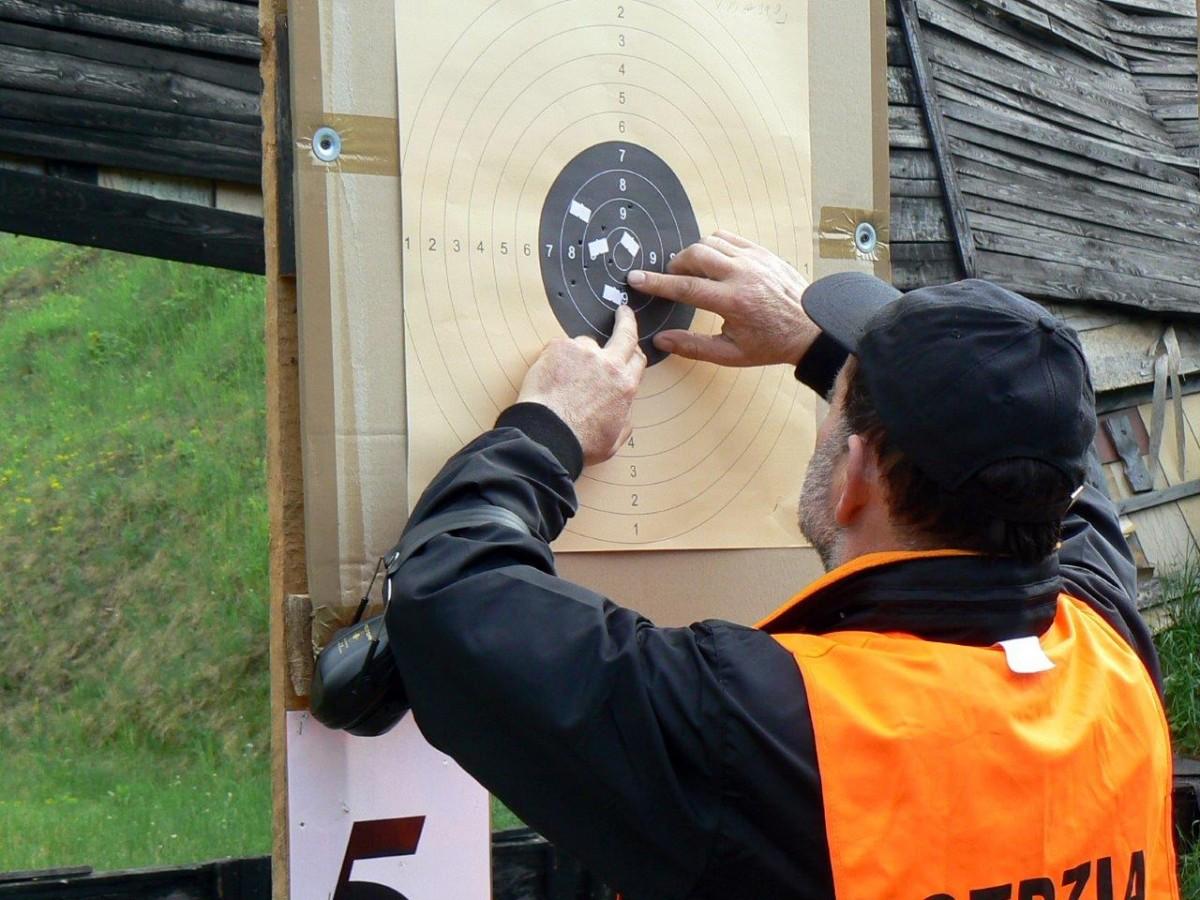 strzelectwo, Impuls zaprasza strzelanie - zdjęcie, fotografia