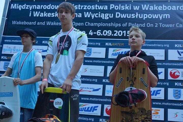 wakeboard, Wysokie miejsca zawodników Kabla - zdjęcie, fotografia