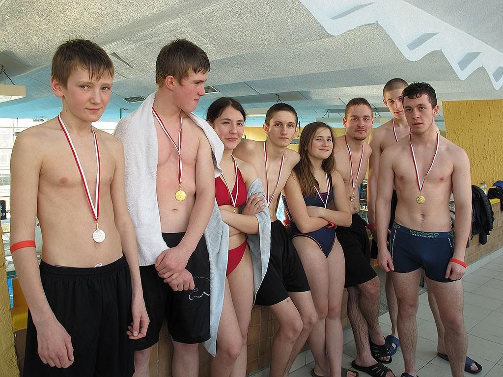 plywanie, medali Victoria Szczecinie - zdjęcie, fotografia