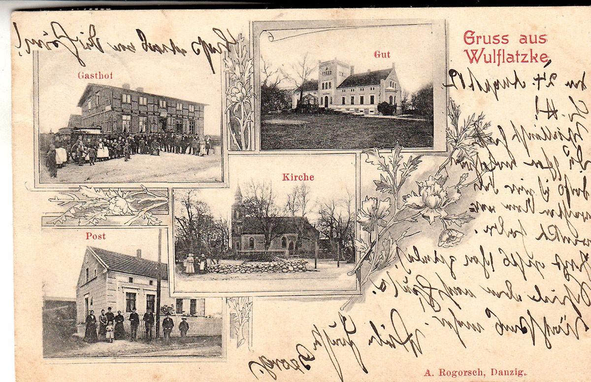 Historia, Wulflatzke Wilcze Laski - zdjęcie, fotografia