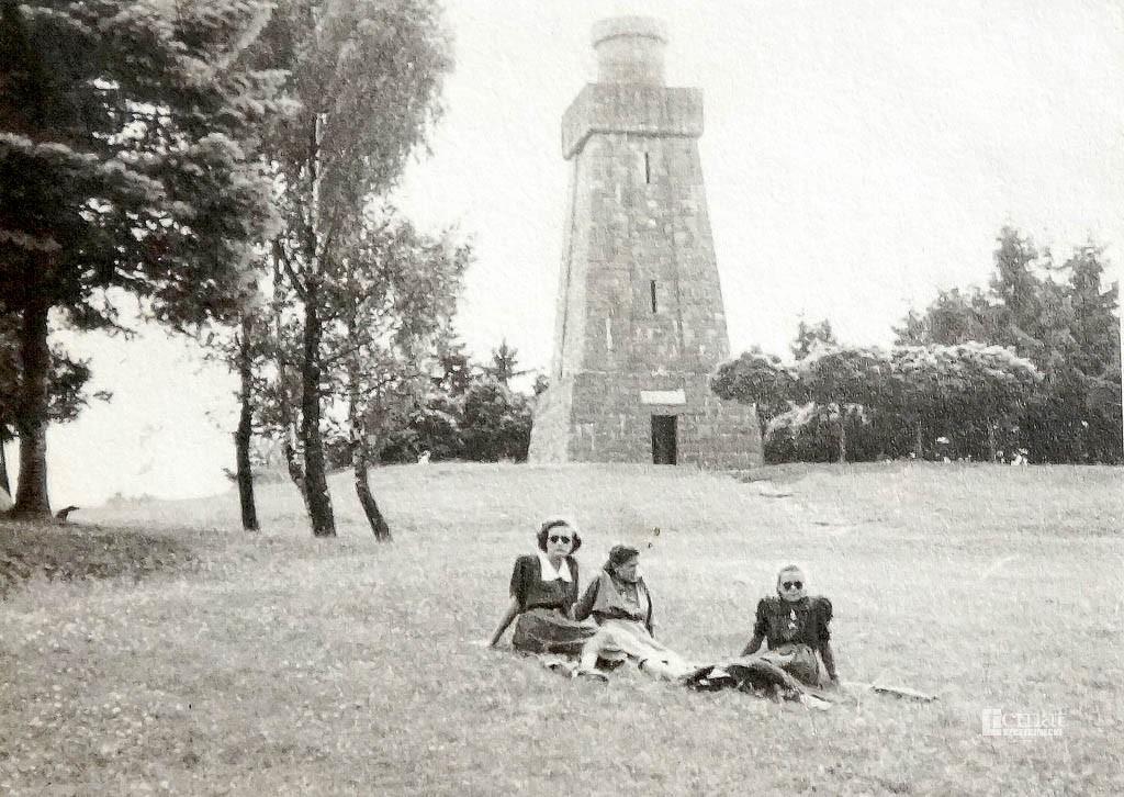 Historia, Niedzielna majówka wieży Bismarcka - zdjęcie, fotografia