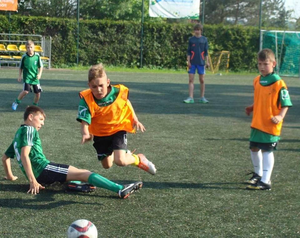 piłka nożna, Barwicach Mała Piłkarska Kadra Czeka - zdjęcie, fotografia