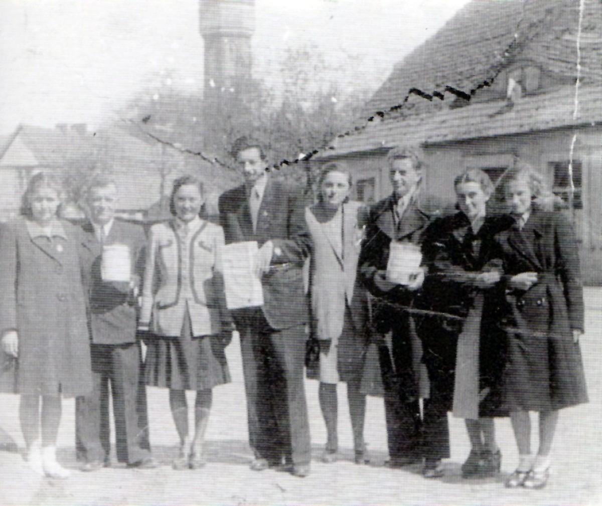 Historia, Jedno ujęcie Szczecinek odbudowuje stolicę - zdjęcie, fotografia