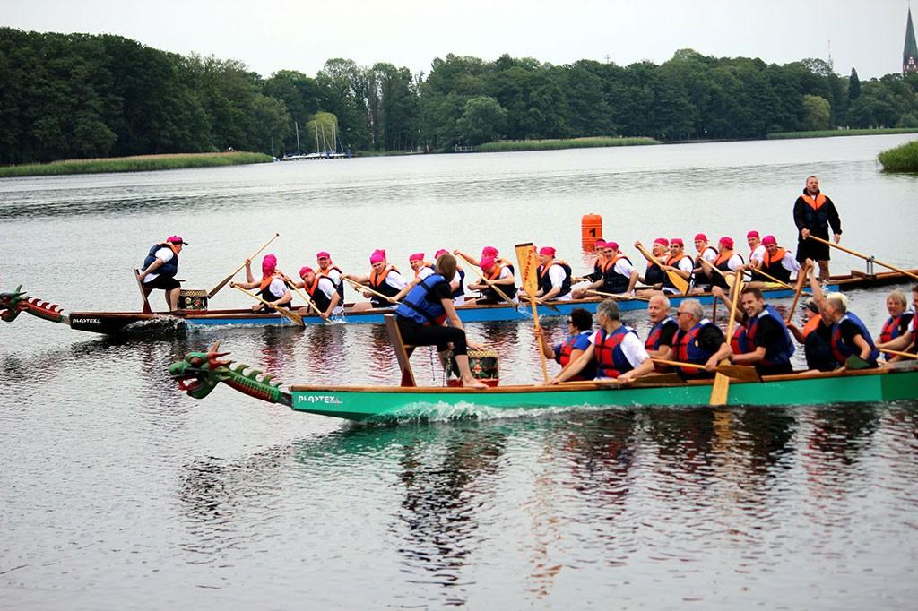 Rekreacja, Zawody smoczych łodzi Zaproszenie - zdjęcie, fotografia