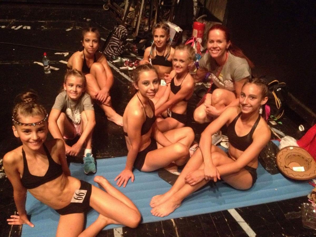 akrobatyka, Nasze fitnesski Mistrzostwach Świata Serbii - zdjęcie, fotografia