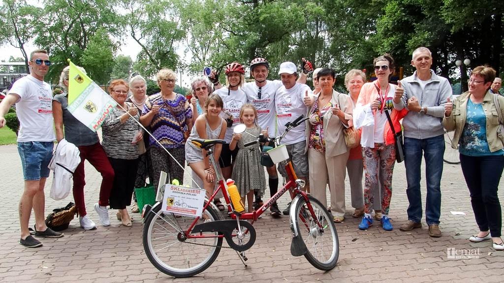 kolarstwo, Składakami jadą wokół Polski - zdjęcie, fotografia