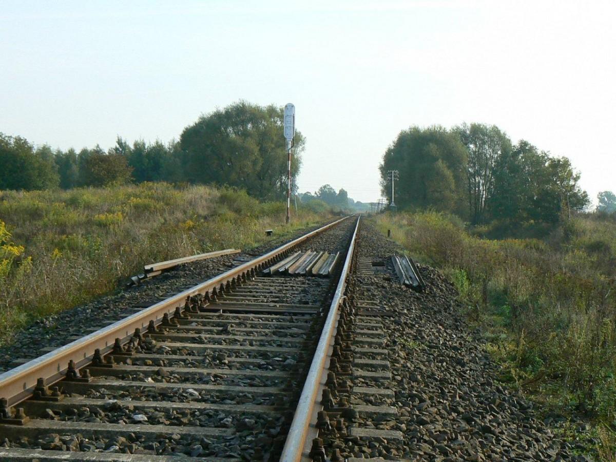 Kolej, Zamknięta linia kolejowa Szczecinek Miastko - zdjęcie, fotografia