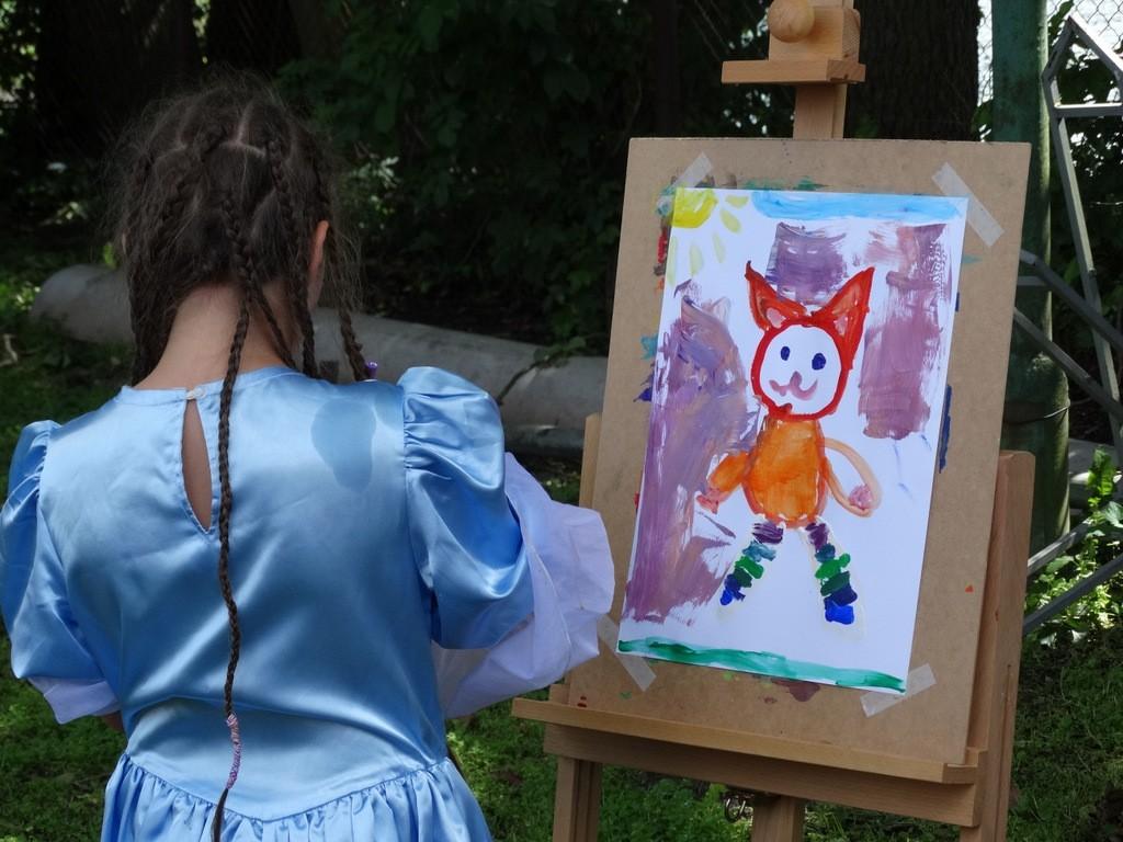 Artpiknik, Wioska Atrakcje najmłodszych - zdjęcie, fotografia