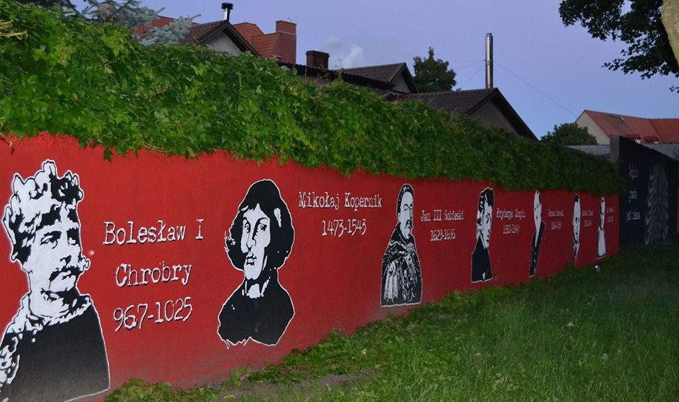 Wystawy, Patriotyczny Szczecinek graficznie zmienia miasto - zdjęcie, fotografia