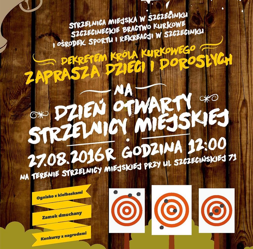 strzelectwo, Dzień Otwarty strzelnicy Zaproszenie - zdjęcie, fotografia