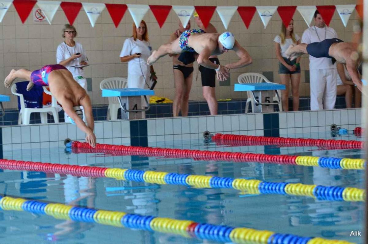 plywanie, Mastersi zapraszają mityng pływacki - zdjęcie, fotografia