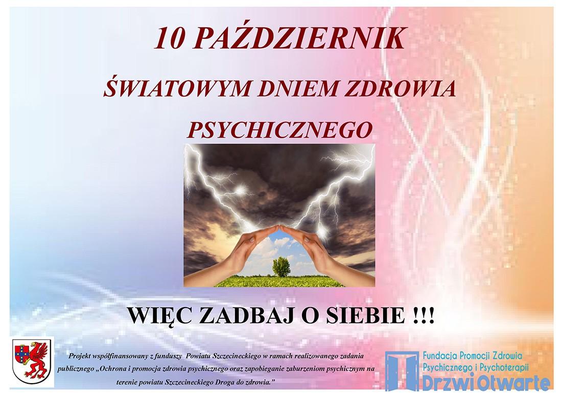 U015awiatowy Dzie U0144 Zdrowia Psychicznego Szczecinek Temat