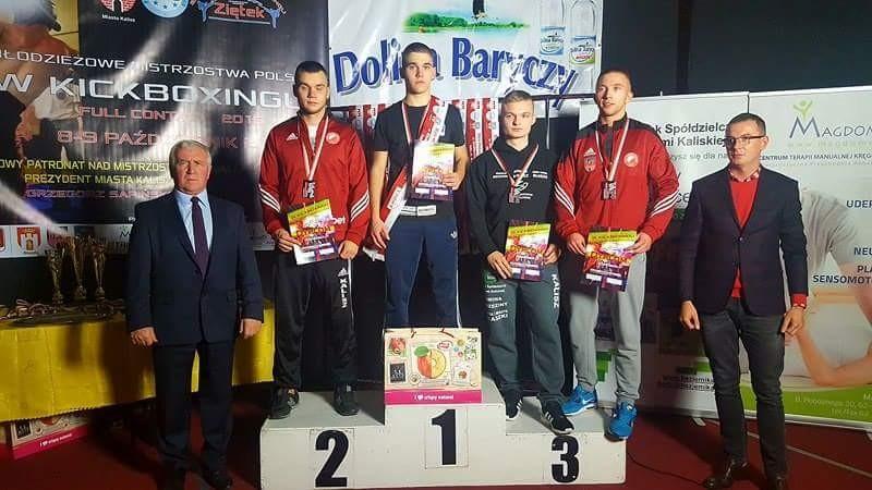 taekwondo, Jakub Pokusa Młodzieżowym Mistrzem Polski - zdjęcie, fotografia