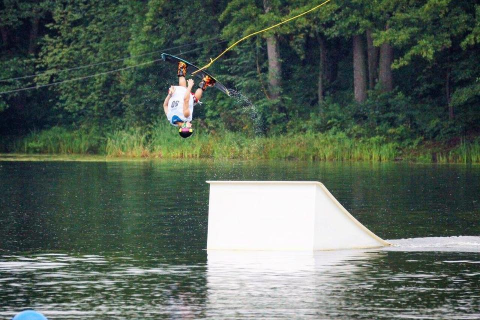 wakeboard, zostać mistrzem czyli sezon klubu Kabel - zdjęcie, fotografia