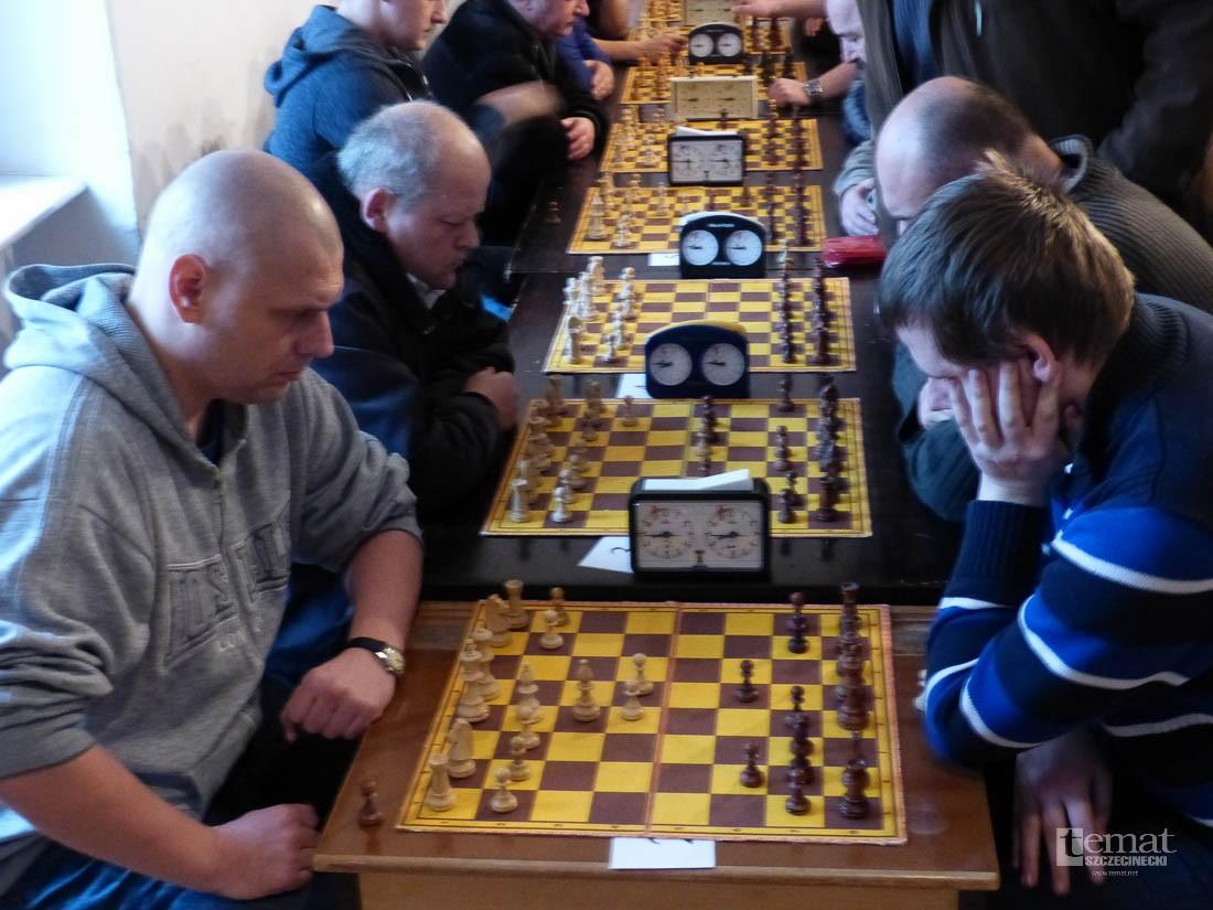 szachy, szachowy turniej niepodległościowy - zdjęcie, fotografia