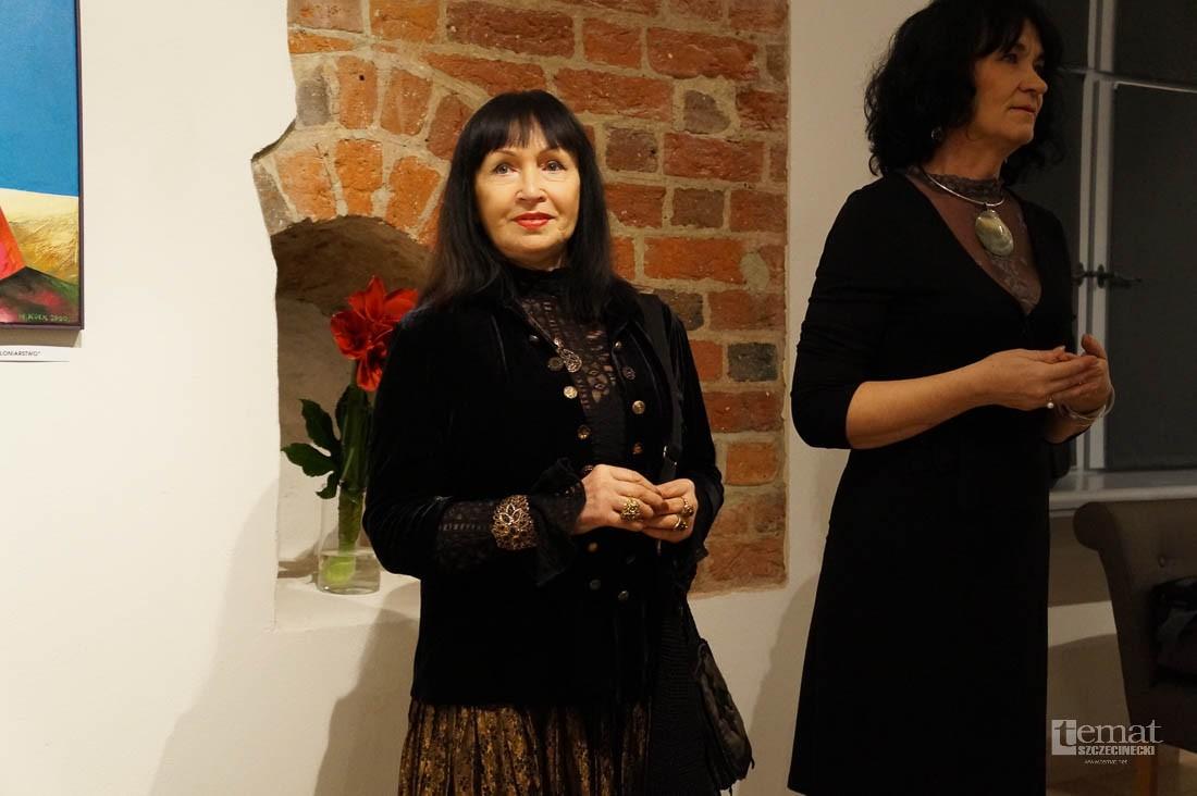 Wystawy, Wernisaż Włodzimiery Gdybym chciała powiedzieć pisała - zdjęcie, fotografia
