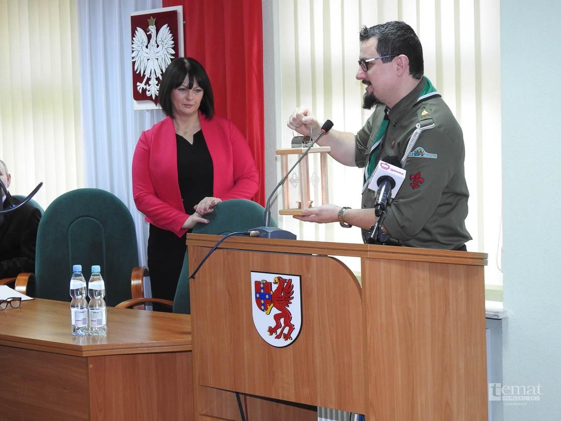Powiat, Przedświąteczna sesja Powiatu - zdjęcie, fotografia