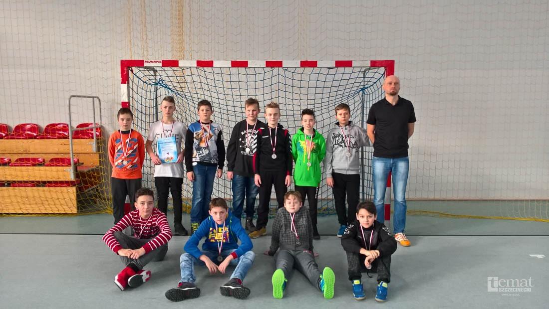 piłka ręczna, Mistrzostwa Powiatu Piłce Ręcznej Chłopców - zdjęcie, fotografia