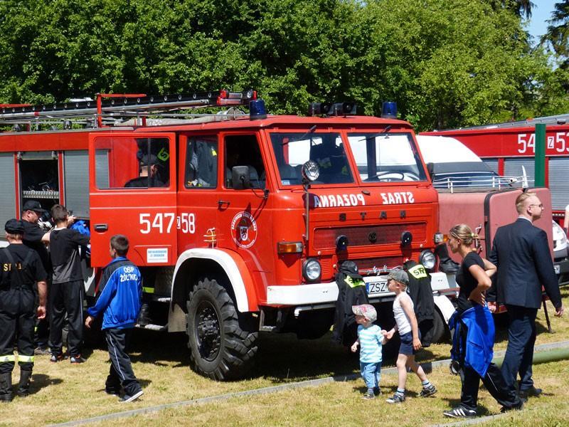 Straż Pożarna, Druhowie Parsęcka działań specjalnych - zdjęcie, fotografia
