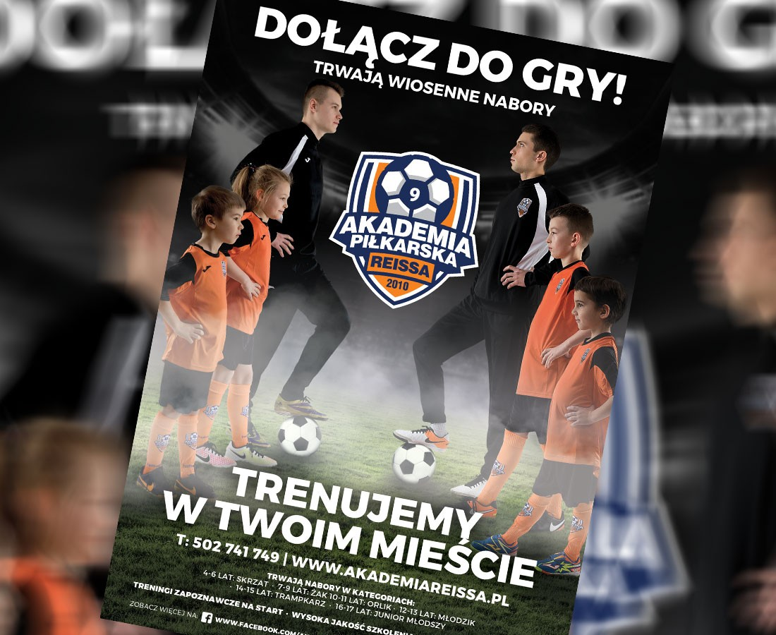 piłka nożna, Dołącz Akademią Piłkarską Reissa! - zdjęcie, fotografia