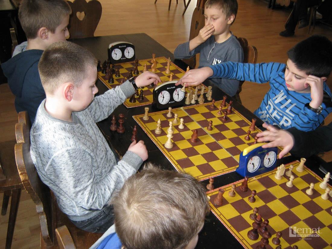 szachy, Szachy Mistrzostwa Szczecinka półmetku - zdjęcie, fotografia