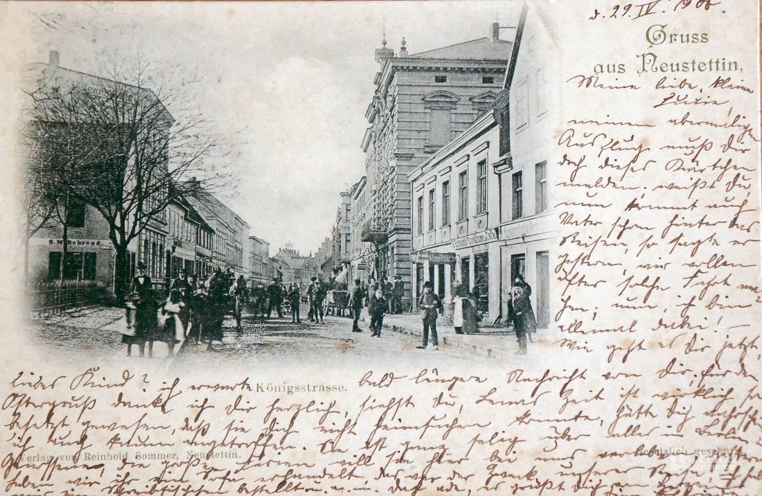Historia, Pewien letni dzień Königstrasse - zdjęcie, fotografia