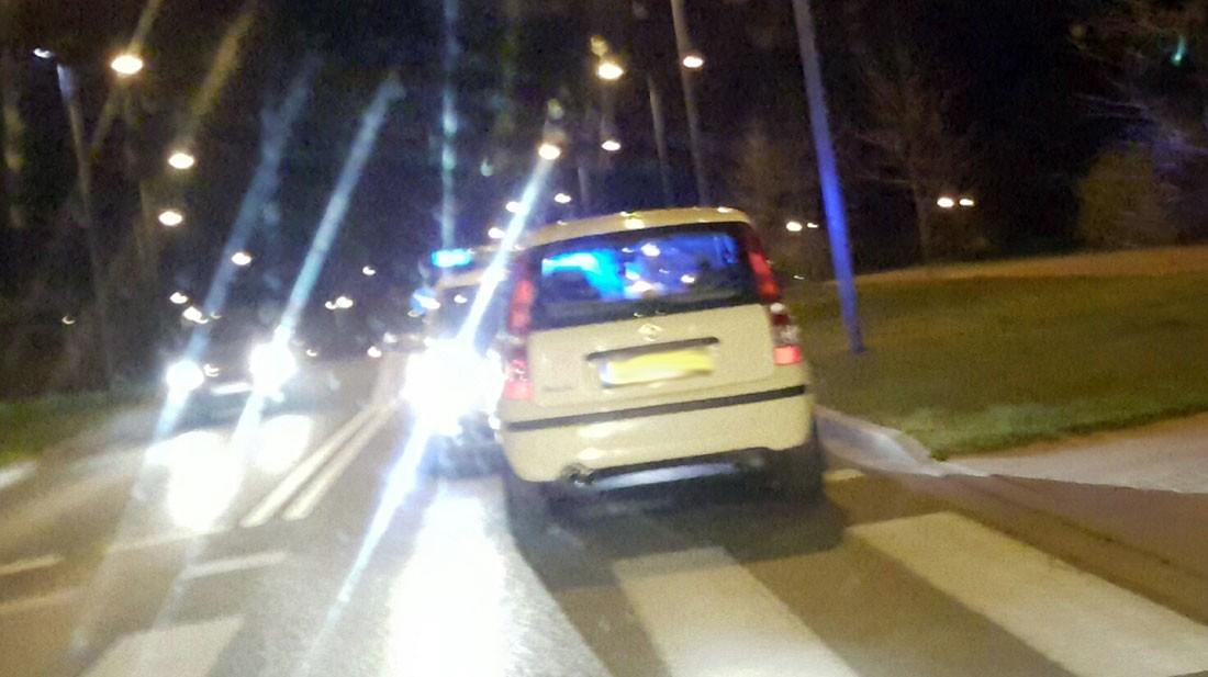 Wypadki drogowe , uciekał ulicami Szczecinka - zdjęcie, fotografia